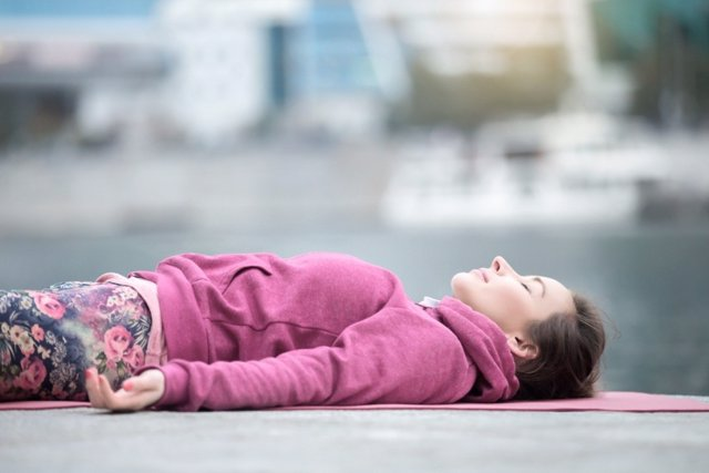 Ejercicio para relajarte y olvidarte del estrés