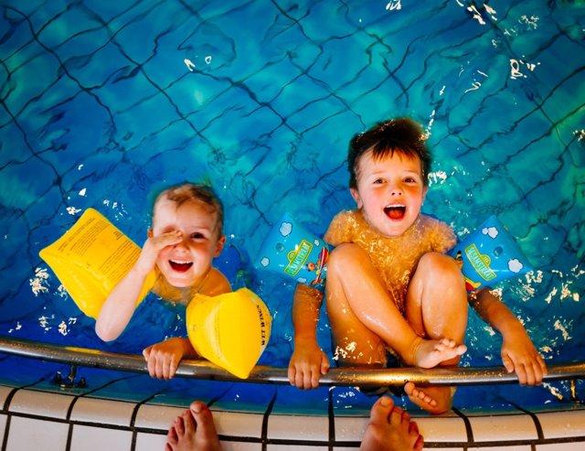 Naatación para niños en vacaciones