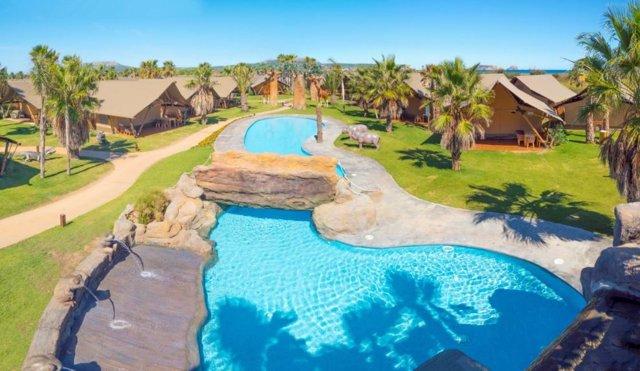 Glanping y bungalows en El Delfin Verde