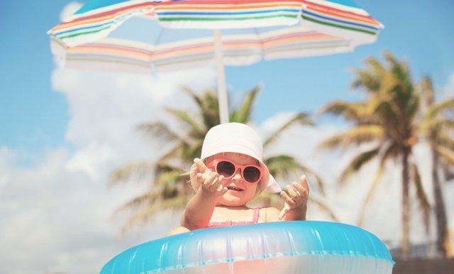 Protege a tu bebé del calor