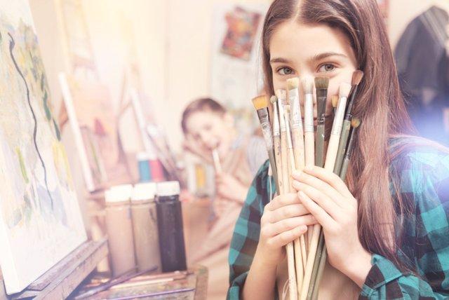 Adolescentes: creatividad