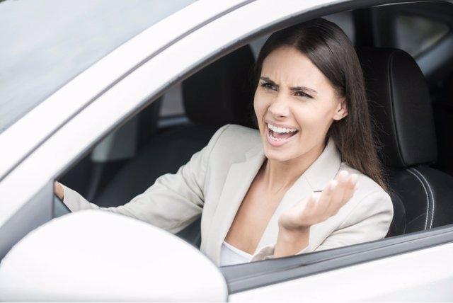 Agresividad al volante