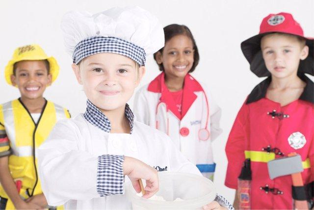 Cuáles son los trabajos más deseados por los niños.