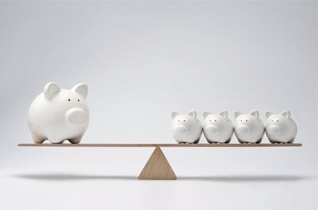 El gasto de la vivienda se lleva gran parte del presupuesto familiar.