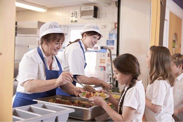 Pocos comedores escolares son gestionados por el mismo centro.