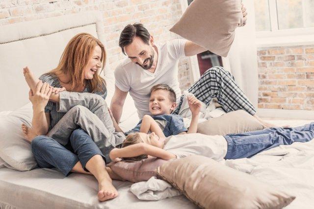 Saca tiempo para estar con tus hijos