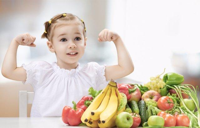 La alimentación tiene una gran influencia en el desarrollo de los más pequeños.