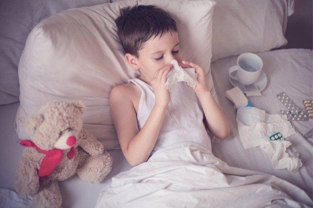 Cómo evitar las infecciones en niños.