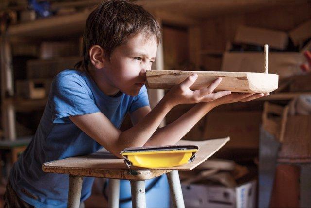 El talento y el esfuerzo en niños es el secreto.