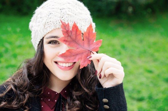 Más guapa en otoño
