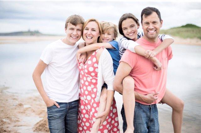 Las familias numerosas crecerían si lo hicieran sus ingresos.