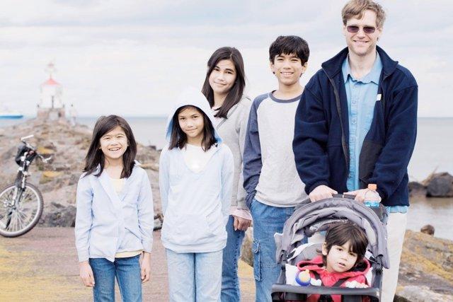 Las familias numerosas solicitan un acercamiento por parte del Gobierno.