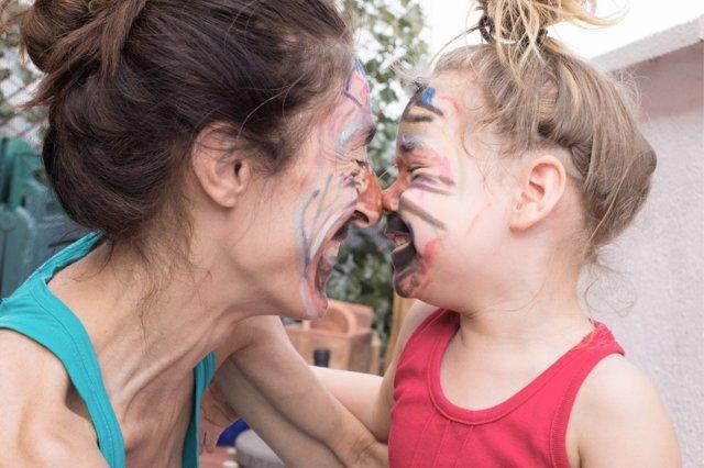 Pasar tiempo junto a los niños, una actividad muy recomendada.