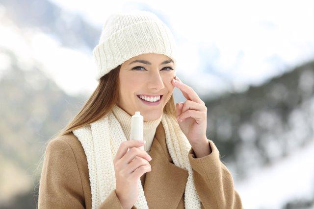 Cuida tu piel si vas a esquiar