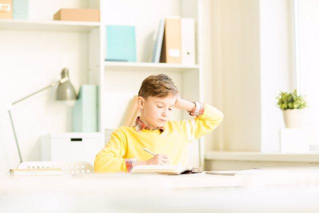 Los exámenes causan mucho estrés en los niños