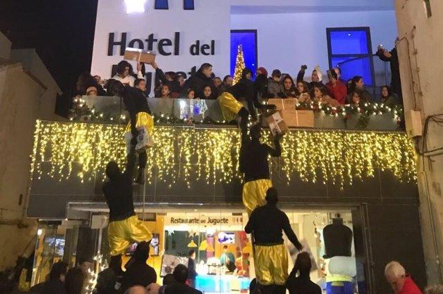 Visita el Hotel del Juguete en Navidad