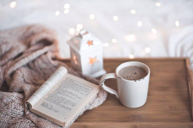La lectura en Navidad es siempre un buen regalo.