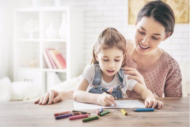 El slow parenting es una tecnica que permite que los niños disfruten más.