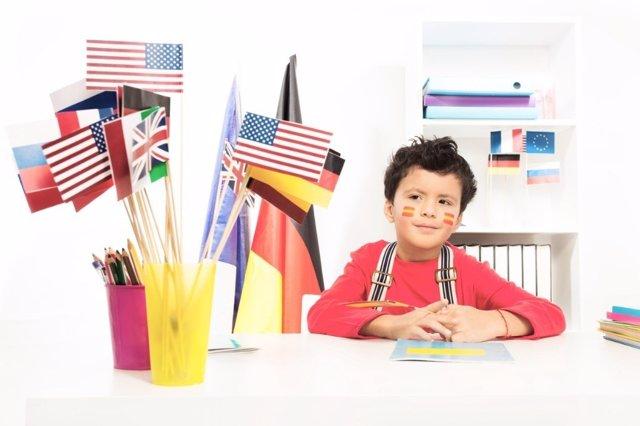 La era del bilingüismo infantil