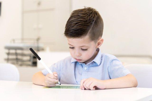 La disgrafia, el trastorno de escritura que afecta a la caligrafia.