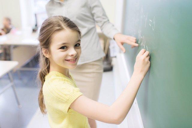 Enseñar matemáticas a los niños