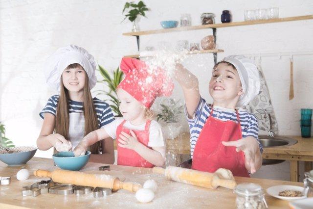 Esculas de cocina para niños
