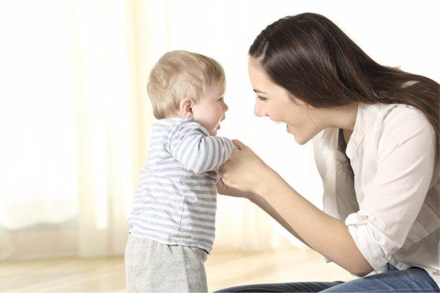Las miradas entre padres e hijos tienen beneficios