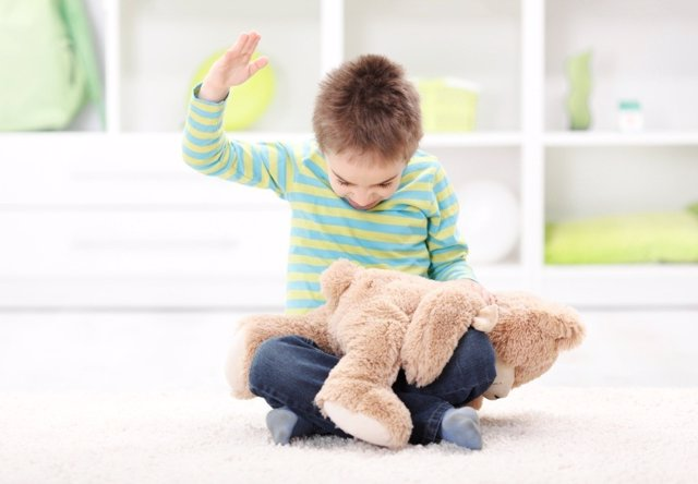 Mi hijo pega a otros niños: la agresividad infantil