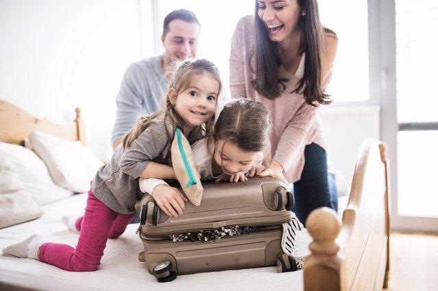 Vacaciones con V de vitaminas para tu familia