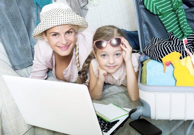 Ideas para hacer la maleta y enseñar a los niños a organizar la suya
