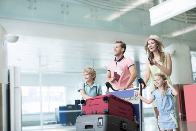 Trucos para el éxito de los viajes en familia