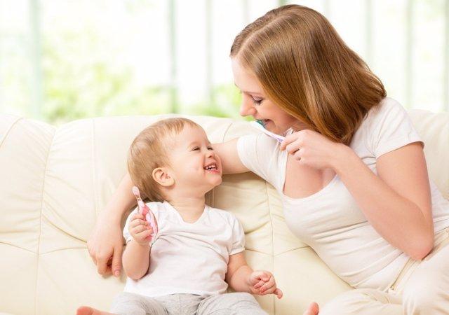 Los dientes de leche son tan importantes como los definitivos