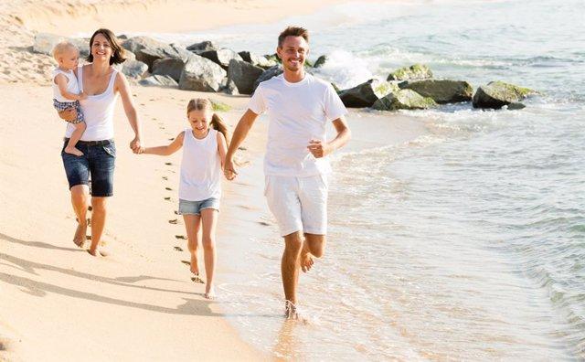 Cómo hacer ejerciciio en la playa sin darnos cuenta