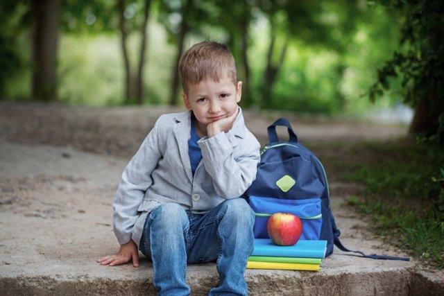 Algunos niños se angustian en la vuelta al cole por el miedo a la novedad, a no saber qué se van a encontrar al volver al cole.