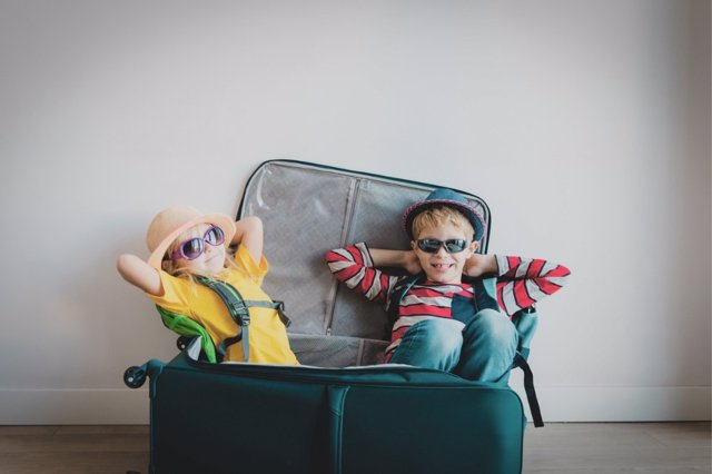 Así viajan las familias españolas.